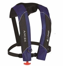 "ONYX ONYX BELT PACK A/M/24 BLUE 30-52""CHEST"