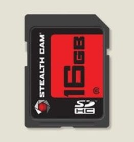 GSM Stealth Cam 16GB SD Memory Card Single Pack Model: STC-16GB