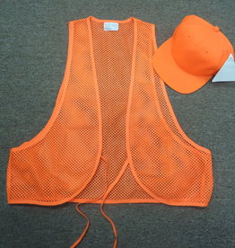 Unknown Youth Vest and Hat Combo - hunter orange