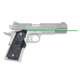 Crimson Trace Corporation Crimson Trace Master Series G10 Green Lasergrips for 1911 Full-Size Pistols