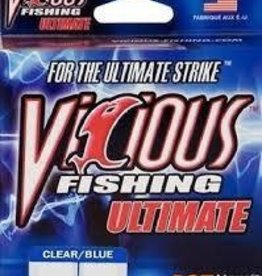 Vicious VICIOUS ULTIMATE 14LB CLEAR BLUE FISHING LINE 660 YARD SPOOL
