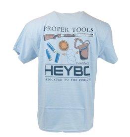 Heybo Outdoors HEYBO PROPER TOOLS, YOUTH LARGE, SHORT SLEEVED