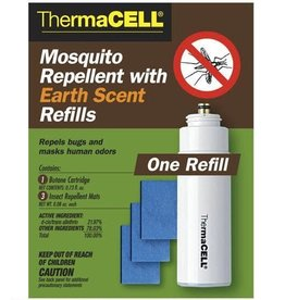 THERMACELL / THERMASCENT ThermaCELL Mosquito Repellent Refill 3 Mats 1 Butane Cartridge Earth Scent E1