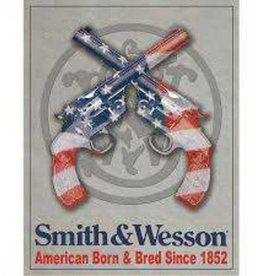 Signs 4 Fun Smith & Wesson American Born and Bred Since 1852 Sign