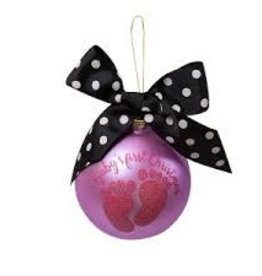 Simply Southern Simply Southern  Baby Girl First Christmas Ornament