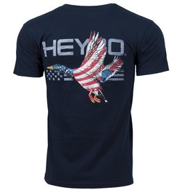 Heybo Outdoors Heybo Patriotic Duck short sleeve Large