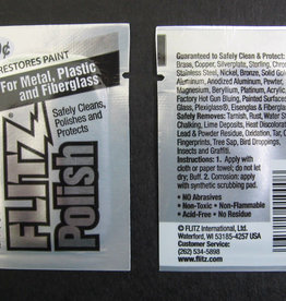 FLITZ PRODUCTS FLITZ POLISH FOR METAL PLASTIC AND FIBERGLASS .07 OZ PACKET(1)