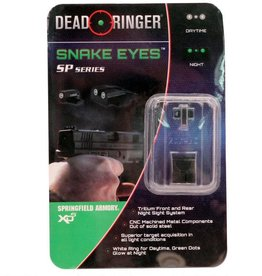 Dead Ringer Dead Ringer  TRITIUM NIGHT SIGHT-Snake Eyes