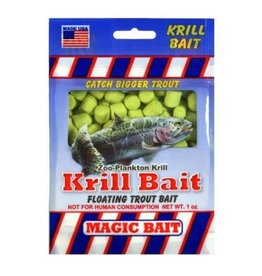 Magic Bait Magic Bait Krill Bait 1 oz Chartreuse