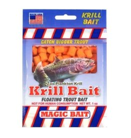 Magic Bait Magic Bait Krill Bait 1 oz. Orange