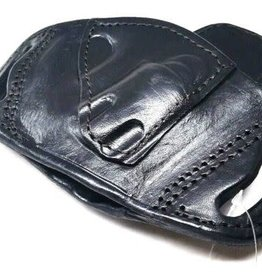 TAGUA GUNLEATHER Tagua Black LEATHER OWB Holster for RUGER LCR J FRAME snub nose 38 357 RIGHT RH