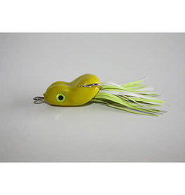 SOUTHERN LURE CO. SCUM FROG TINY TOAD, 3/16OZ., CHARTREUSE