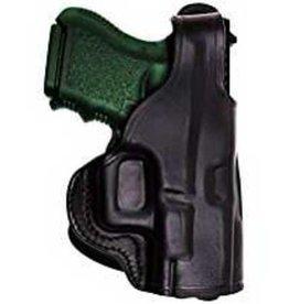 TAGUA GUNLEATHER TAGUA THUMB BREAK PADDLE HOLSTER, BLACK, #PD1-200