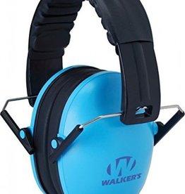 Walker's Walker's Children-Baby & Kids Hearing Protection/Folding Ear Muff, Blue
