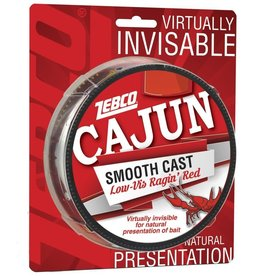 ZEBCO CORP. Zebco Cajun Low Vis Ragin Red 8 LB 330 YD Fishing Line CLLOWVISF8C