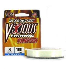 Vicious Vicious Fishing Panfish Clear Blue PYL8 Fishing Line 330 yd./8Lb