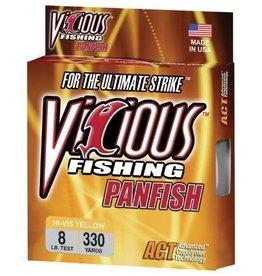 Vicious Vicious Panfish Line Hi Vis Yellow 330yd 8lb