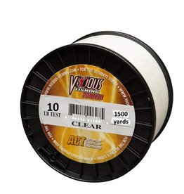 Vicious VICIOUS PANFISH FISHING LINE 10 LB TEST 150 YARDS CLEAR PCLQ10