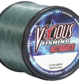 Vicious Vicious Ultimate Lo Vis Green Fishing Line 12lb 1,000 Yards