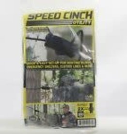 SPEED CINCH 1 Speed Cinch SCUBK20-2 Speed Cinch Utility, Black with 20' cord