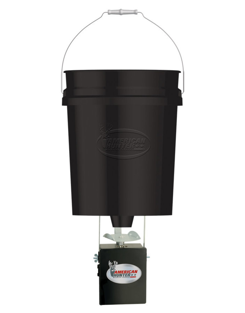 American Hunter GSM 40LB HANGING FEEDER W/ E-KIT