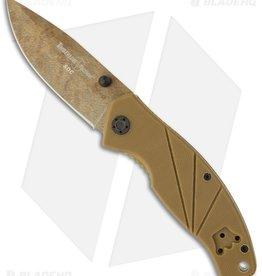 "Timberline Tactical TIMBERLINE GATCO/SOC FOLDING 3.25"" PLAIN ANODIZED FINISH 440"