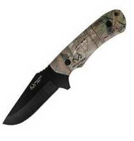"Realtree Xtra Red River Realtree Xtra 4.2"" Fixed Blade Skinner, RT02SKXTCP"