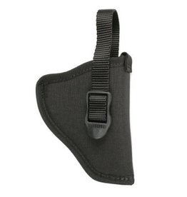 "BLACKHAWK PRODUCTS Blackhawk 73NH01BK-R Hip Holster Black Nylon 3-4"" Barrel Md Autos"