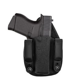 TAGUA GUNLEATHER TAGUA RECRUITER-355 HYBRID HIP IWB KYDEX FITS GLOCK 43 BLACK AMBI