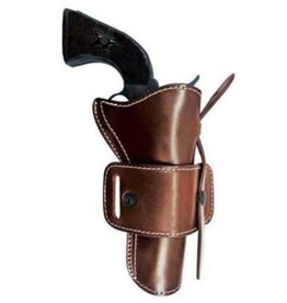 TAGUA GUNLEATHER TAGUA LEATHER COWBOY OTP HOLSTER BROWN AMBIDEXTROUS CH-COAR-44475-DBA