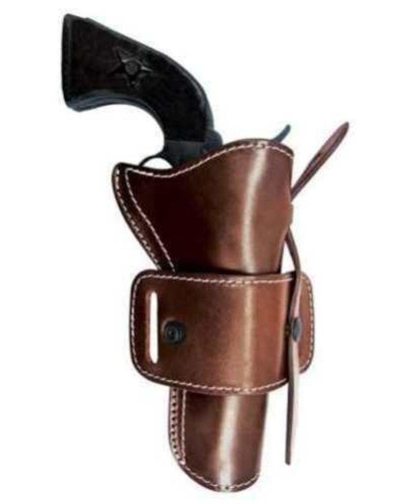 TAGUA GUNLEATHER TAGUA LEATHER COWBOY OTP HOLSTER BROWN AMBIDEXTROUS  CH-COAR-44475-DBA
