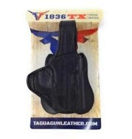 TAGUA GUNLEATHER TAGUA TEXAS SERIES HOLSTER2 IN 1 R/H BLACK