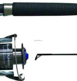 Quantum QUANTUM BLUE RUNNER SPINNING COMBO SIZE 60 ON 9' 2 PC MED HVY