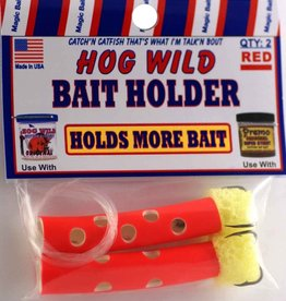 Magic Bait Magic Bait Hog Wild Sponge Tube Bait Holder Size #4 Teble Hooks