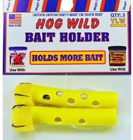 Magic Bait Magic Bait Hog Wild Sponge Tube Bait Holder Size 4 Teble Hooks