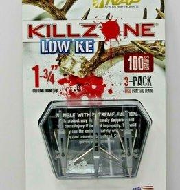 NEW ARCHERY PRODUCTS NWA KILLZONE KE 100GR COC 3PK