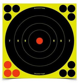 "Birchwood Casey Birchwood Casey Shoot-N-C Ractive Bulls Eye Targets- 8"" Targets 6 72 Repairs"