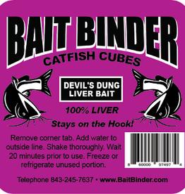 Bait binder Bait binder devils dung liver bait