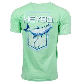 Heybo Outdoors Heybo Men's Tarpon Too Short Sleeve T-Shirt  Mint GreenSize Small