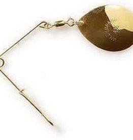 Hildebrandt Hildebrandt Jig Spinner Gold Size 3.5   2pk