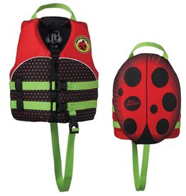 ONYX Full Throttle Water Buddies Vest Child 30-50lbs Ladybug