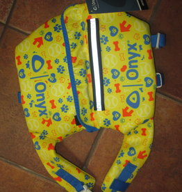 ONYX ONYX yellow, blue & orange DOG VEST