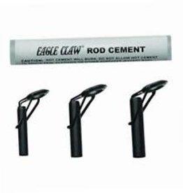 Eagle Claw Eagle Claw Kit Black 3 Rod Tips & GlueAHDTK Heavy Duty Repair