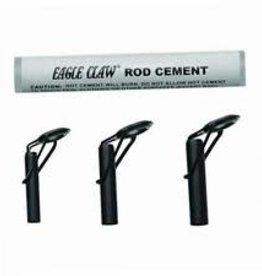Eagle Claw Kit Black 3 Rod Tips & Glue Eagle Claw AHDTK Heavy Duty Repair
