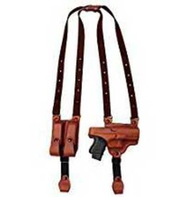 "TAGUA GUNLEATHER Tagua SH4-202 Full Slide Shoulder Holster, 1911-5"", Brown, Right Handed"