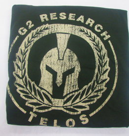G2 Research G2 research telos bow down before no man army green tshirt XL