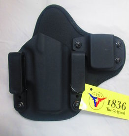 TAGUA GUNLEATHER TAGUA RECRUITER/MC-355 HYBRID IWB KYDEX W/MAG CARRIER