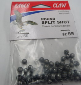 Eagle Claw Eagle Claw Round Split Shot QTY60 szBB
