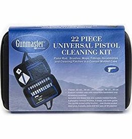 DAC TECHNOLOGIES Gunmaster 22 Pcs Universal Pistol Cleaning Kit