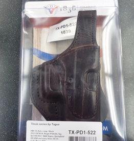 TAGUA GUNLEATHER Tagua TEXAS ROTATING THUMB BREAK PADDLE HOLSTER TX-PD1-522